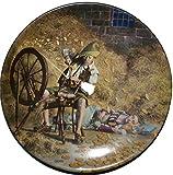 Rumpelstilzchen Grimms Fairy Tales edición limitada coleccionistas placa por Charles Gehm Bradex 22-k46–2.1Rumpelstiltskin raras placa