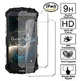 [2 Unidades] Guran® Protector de Pantalla Vidrio Cristal Templado Para Doogee S60 Smartphone Cristal Vidrio Templado Film