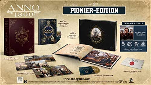 ANNO 1800 - Pionier Edition (Collector's Edition) - [PC]