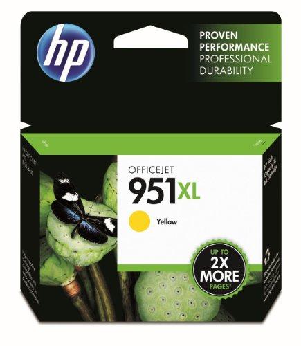 HP 951XL Gelb Original Druckerpatrone mit hoher Reichweite für HP Officejet Pro 276dw, 8600, 8610, 8620, 251dw, 8100