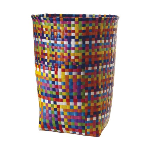 Woven Basket Korb groß ø 40 cm, h 53 cm