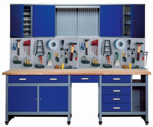 Küpper 70412-7, Set per officina, 240 cm, prodotto in Germania, colore: Blu oltremare