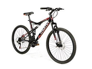 """Risultati immagini per Moma bikes, Bicicletta Mountainbike 26"""" BTT SHIMANO, doppio disco e doppia sospensione"""