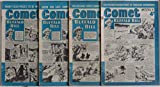 Comet comic – 4 consecutive issues from July 1958, featuring Jet-Ace Logan, Buffalo Bill, Claude Duval and the Castle of Peril, and more (80 pages altogether. Issue numbers 520 to 523 inclusive).