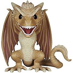 Funko 5062 - Estatuilla de Juego de Tronos - Viserion gran tamaño 15cm Pop - 0849803050627 - Figura Juego de Tronos Dragon Viserion (15 cm)