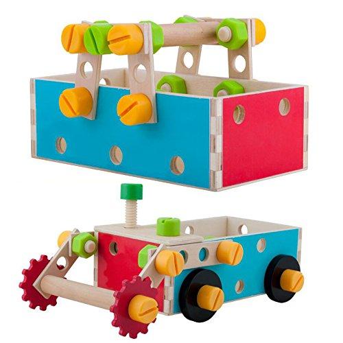 bricolage volont caisse outils en bois jeu d 39 imitation mod le de jouet de d montage. Black Bedroom Furniture Sets. Home Design Ideas