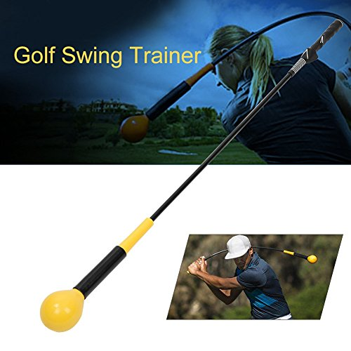 Golf Swing, Golf Training Aid Swing Trainer Practice Speed Tool Training Equipment for Strength and Tempo