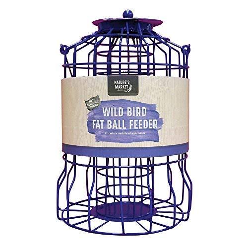 BF007FB Kingfisher Squirrel Guard Fat Ball Feeder