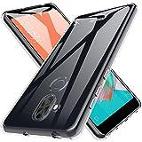 Custodia ASUS ZenFone 5 Lite / 5Q Cover, LK Case in Morbido Silicone di Gel Antigraffio in TPU Ultra [Slim Thin] Cover Protettiva - Trasparente
