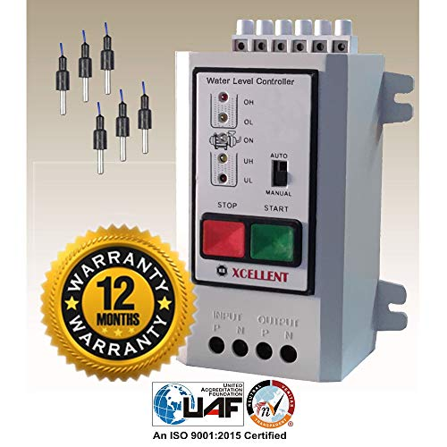 Microtail Fully Automatic Water Level Controller with Dry Run Protection ...