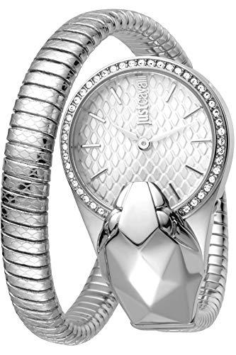 Orologio Just Cavalli Fashion Glam Time JC1L067M0015 - Analogico da Donna in Acciaio INOX