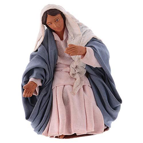 Holyart Madonna per presepe Napoletano 12 cm