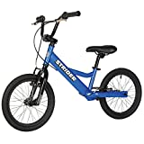 Strider Youth 16 Sport No-Pedal Balance Bike 6-12 years (Blue)
