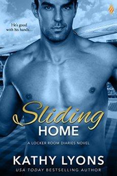 Sliding Home (Locker Room Diaries) by [Lyons, Kathy]