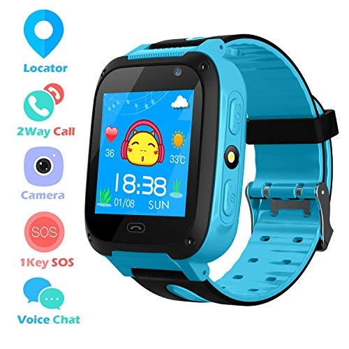 Kids Phone Smart Watch for 3-12 Year Boys Girls GPS/LBS Tracker Touch Screen SOS Anti-lost Camera...