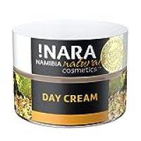 !Nara Cosmética natural orgánica Crema de Día Naturkosmetik 50 ml crema facial enriquecida contra el enrojecimiento para pieles secas sensibles con efecto calmante antiinflamatorio - sin parabeno
