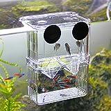 Kicode Caja de incubación juvenil Cría de peces Incubadora Aislamiento Colgando Tanque Criador