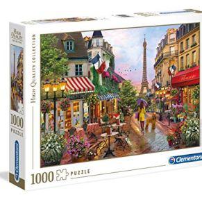 Clementoni Collection Puzzle-Flowers paris-1000Unidades, Multicolor, 39482