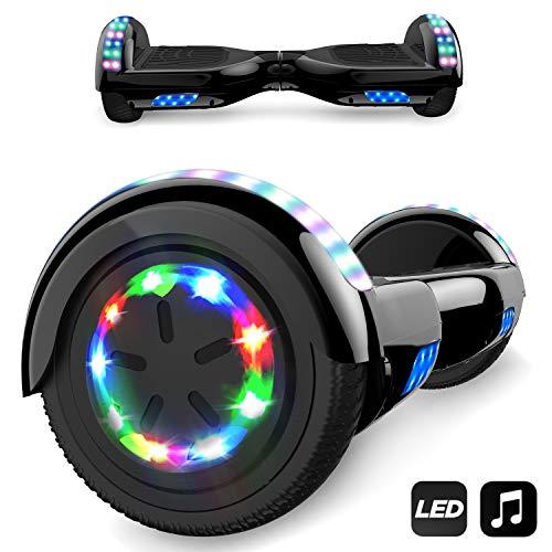 Hoverboard, Self Balance Scooter Elettrico, Balance Scooter con LED, Due Ruote 6.5', Batteria e...