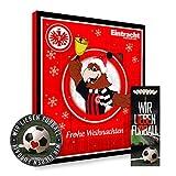 Adventskalender, Weihnachtskalender deines Bundesliga Lieblingsvereins 2018 - Plus gratis Sticker & Lesezeichen Wir Lieben Fußball (Eintracht Frankfurt Premium)