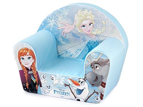 Lulabi Disney Frozen, Poltroncina morbida, Azzurro, 18+ mesi