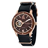 Spinnaker Mens Chronograph Automatic Watch with Leather Strap SP-5034-08