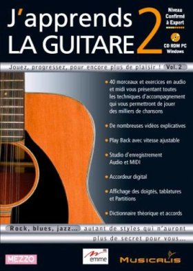 J'apprend la guitare 2