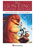 Elton John/Tim Rice: The Lion King - Deluxe Edition (Pvg Songbook)