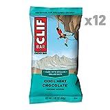 CLIF BAR - Energy Bar - Cool Mint Chocolate - With Caffeine (2.4 Ounce Protein Bar, 12 Count)