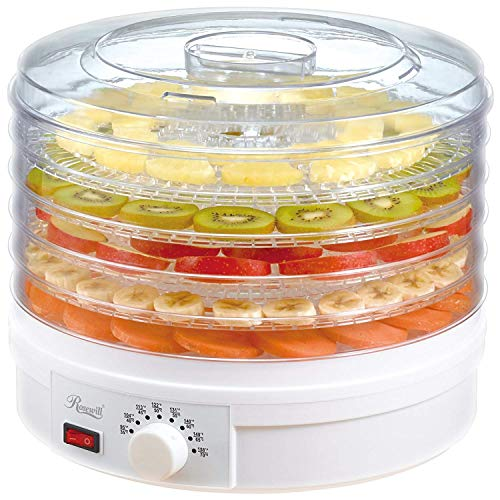 AZOD 5 Tray Electric Food Dehydrator Fruit Vegetable Dryer, Preserver Jerky Maker Machine