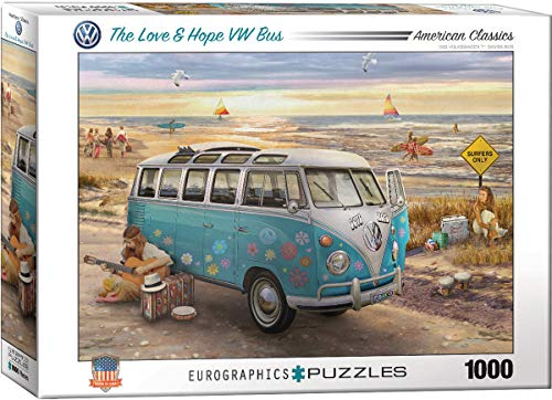 Eurographics 6000 – 5310 The Love And Hope VW Bus Puzzle da Pezzi