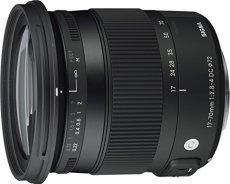 Sigma 884954 F2.8-4 - Objetivo para Canon (distancia focal 17-70mm, apertura f/2.8-22, estabilizador) color negro