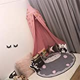 Dosel Para Cama Infantil Algodón Cúpula Mosquitera Para Cuna Niña Princesa Dose Bebé Minicuna Dormitorio Decoración Protección Contra Insectos