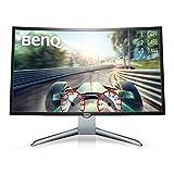 BenQ EX3200R 80,01 cm (31,5 Zoll) Full HD Curved Gaming Monitor (HDMI, 1800R, Low Blue Light, Flicker-free, Display Port, 144Hz)