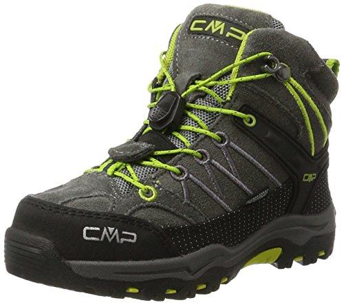 CMP Unisex-Kinder Rigel Mid WP Trekking- & Wanderstiefel, Braun (Teak-Asphalt),...