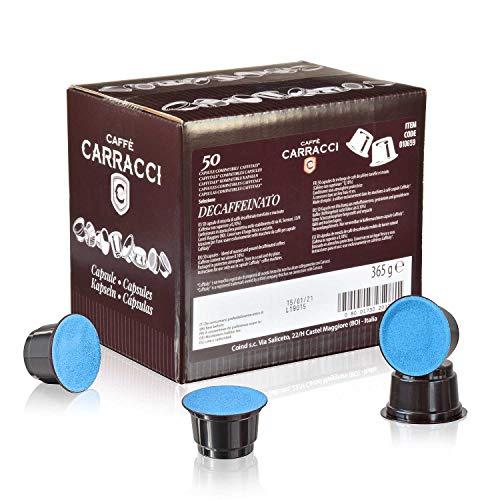 Caffè Carracci Capsule Compatibili Caffitaly Decaffeinato - Pacco da 50 pezzi