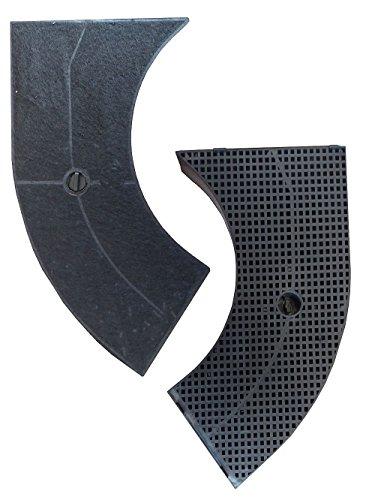 Set risparmio Keen Berk Filtro di carbone attivo per cappe aspiranti di Bosch Siemens ELECTROLUX...
