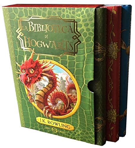 La biblioteca di Hogwarts: Gli animali fantastici: dove trovarli-Le fiabe di Beda il Bardo-Il...
