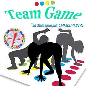 ZoneYan Juegos Suelo,Juego de Piso Familiar Tapete de Juego, Juegos de Mesa, Divertidos Juegos de Habilidad para niños y…
