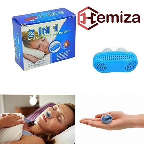 HEMIZA Snoring stopper Anti Snoring Device For Men and Women | snore stopper | Air Purifier Sleep-Aid And Very Use Full