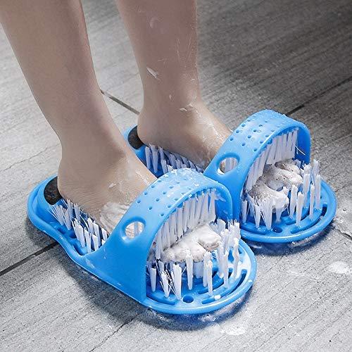 Scrubber for lavasciuga Doccia Spa Massaggiatore Pantofole Detergente for piedi Rimozione del callo...