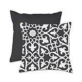 Cuscino decorativo di Marcel Wanders piacevole cuscini-nero-45 x 45 cm