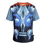 TeyCo Men Creative Trend Sportswear Uomo Magliette XXL