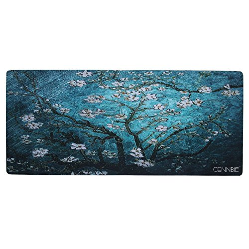 Cennbie Gaming Mouse Pad Dimensione XXL ( 900x400x2mm ) Tappetino Mouse Impermeabile Resistente...