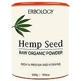 Poudre de Protéine de Chanvre Bio 300g - Riche en Vitamine D et Minéraux - Cru - Sans gluten