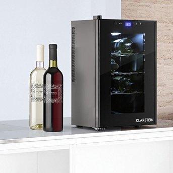 Klarstein-Reserva-Mini-Weinkhlschrank-kleiner-Getrnkekhlschrank-fr-8-Weinflaschen