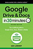 Google Drive and Docs In 30 Minutes (In 30 Minutes Series): The unofficial guide to Google's free online office and storage suite (English Edition)