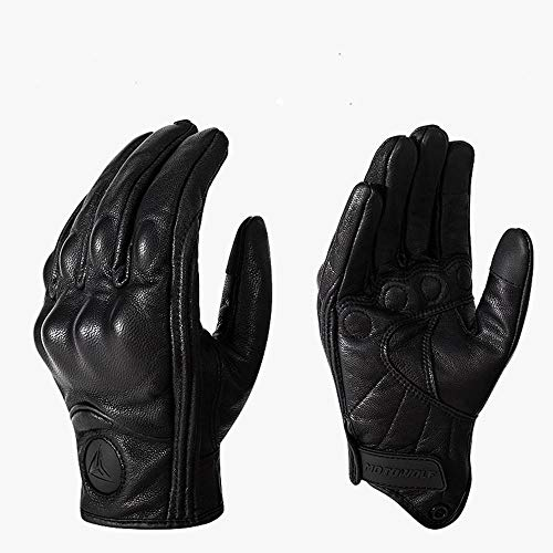 ZFGHN Inverno Guanti Motorcycle Full Finger Touch Screen Windproof Gloves Outdoor Breathing Hole...