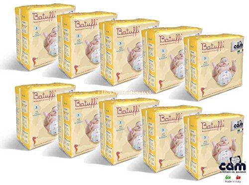 Offerte a pacchetto PANNOLINI CAM BATUFFI (10 pacchi taglia 3)