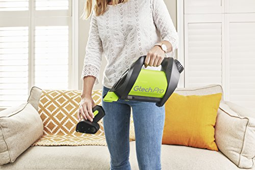 Gtech Pro Bagged Cordless Vacuum Cleaner converts from floor cleaner to portable cleaner in seconds